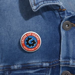 Grove of Gears Pin Buttons