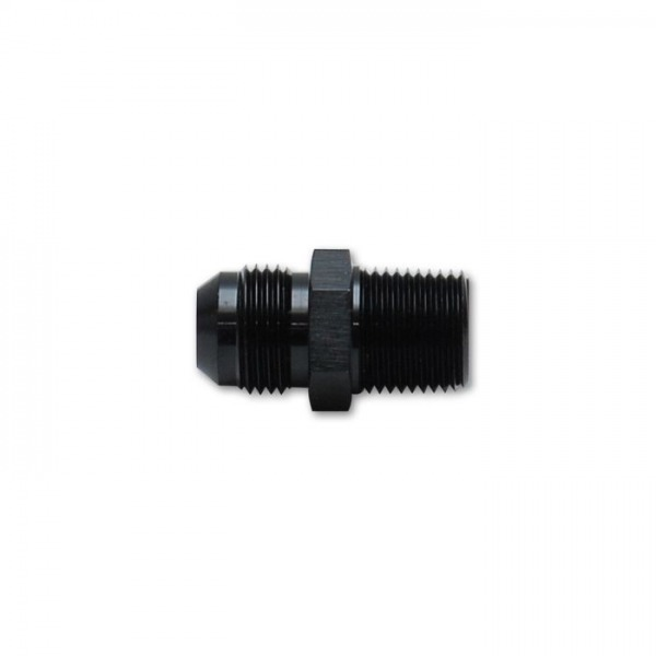 """Straight Adapter Fitting, Size: -6AN x 1/2"""" NPT"""