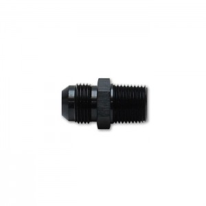 Straight Adapter Fitting, Size: -12AN x 1/2″ NPT