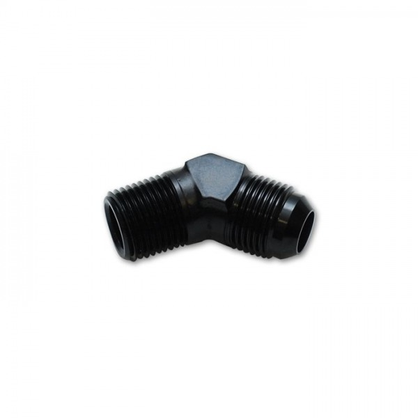 "45 deg. Adapter Fitting (AN to NPT), Size: -10AN x 3/8"" NPT"