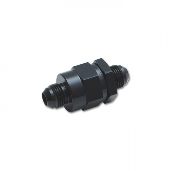 Check Valve with Integrated -8AN Male Flare Fitting