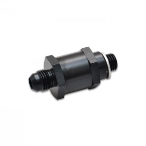 Fuel Pump Check Valve, Size: -8AN Male Flare to 12mm x 1.5 Metric