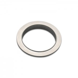 Aluminum V-Band Flange for 4″ OD Tubing – Male