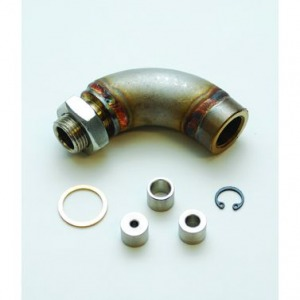 J-Style Oxygen Sensor Restrictor Fitting with Adjustable Gas Flow Inserts