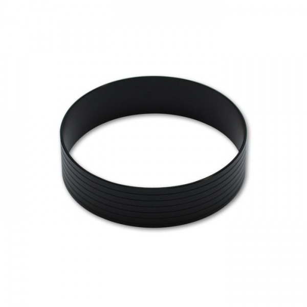 "HD Aluminum Union Sleeve for 2""OD Tubing - Hard Anodized Black"