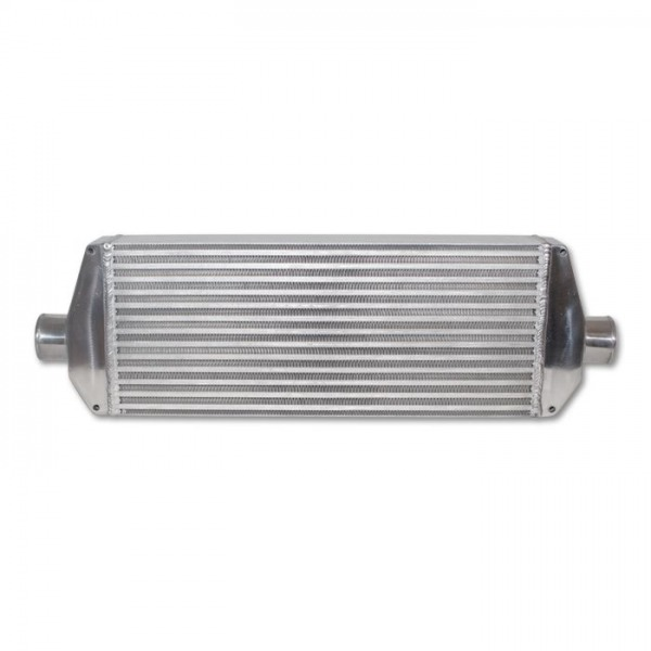 """Air-to-Air Intercooler with End Tanks; 30""""W x 9.25""""H x 3.25""""Thick"""