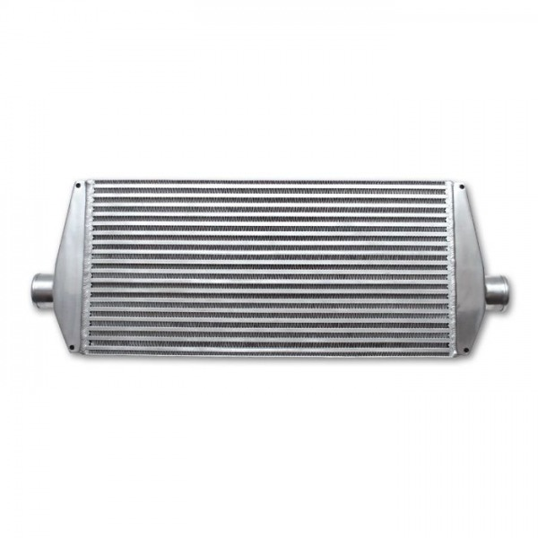"Air-to-Air Intercooler with End Tanks; 33""W x 12""H x 3.5""Thick"