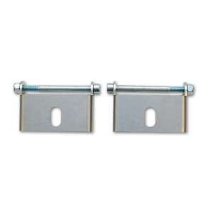 """Pair of Replacement """"Easy Mount"""" Intercooler Brackets for Part #12800"""