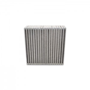 Vertical Flow Intercooler; 12″W x 12″H x 3.5″Thick