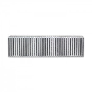 Vertical Flow Intercooler; 24″W x 6″H x 3.5″Thick
