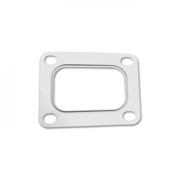 Turbo Inlet Flange Gasket for T4 Rectangular, Multi-Layered Stainless Steel