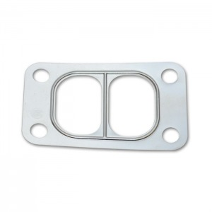 Turbo Inlet Flange Gasket for T3 Divided, Multi-Layered Stainless Steel