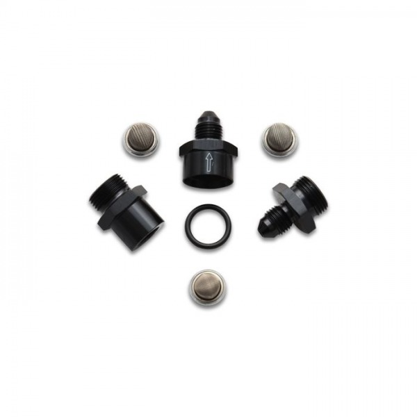 Inline Fuel/Oil Filter Set, Size: -8AN, w/ 3 Filters