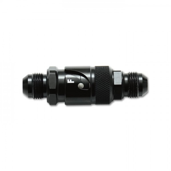 Quick Release Fitting with FKM Rubber Seal, Size: -4AN