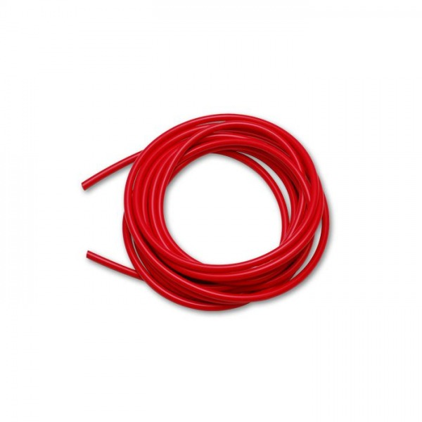 "3/16"" (5mm) ID x 25ft Silicone Vacuum Hose Bulk Pack - Red"