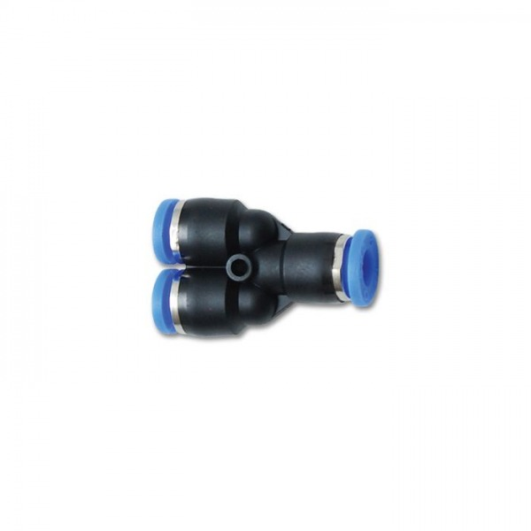"""3/8"""" (9.5mm) Union Y One-Touch Fitting"""