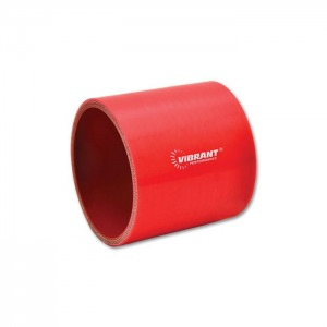 4 Ply Silicone Sleeve Coupler, 2″ ID x 3″ Long – Red