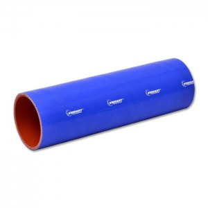 4 Ply Silicone Sleeve Coupler, 2.5″ ID x 12″ Long – Blue