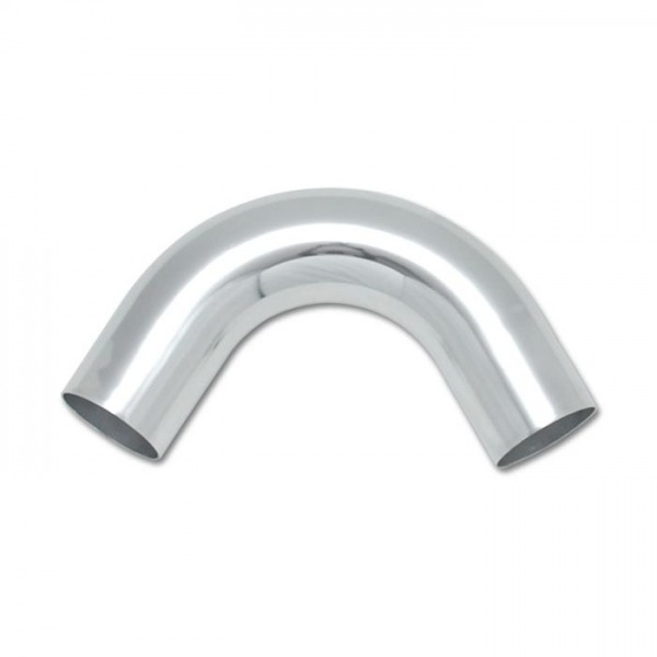 "3"" O.D. Aluminum 120 Degree Bend - Polished"