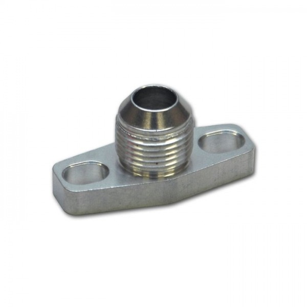 Oil Drain Flange w/ integrated -10AN Fitting (for T3/T4 and GT40-GT55 Turbos)