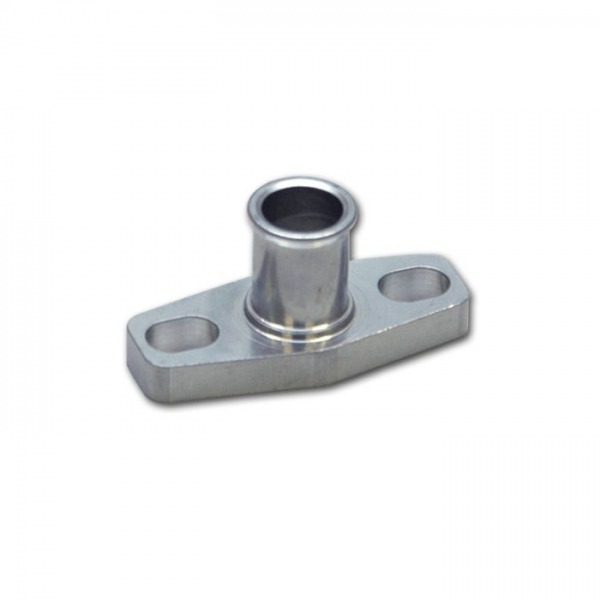 """Oil Drain Flange w/ 5/8"""" OD Male Neck (for T3/T4 and GT40-GT55 Turbos)"""