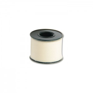 White Adhesive Clean Cut Tape, 2 Meter (6-1/2 Feet) Roll
